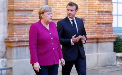 Άμυνα και διατλαντικές σχέσεις στην συνάντηση Μακρόν -Μέρκελ