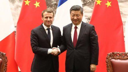 Σχέση Κίνας-ΕΕ, εμβόλια και Μιανμάρ συζήτησαν Μακρόν και Σι Τζινπίνγκ