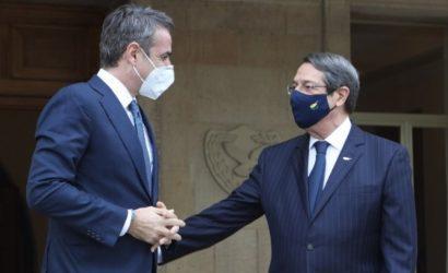 Νίκος Αναστασιάδης: Δεν μπορεί να αποφασιστεί θετική ατζέντα για την Τουρκία όταν αξιώνει λύση δύο κρατών