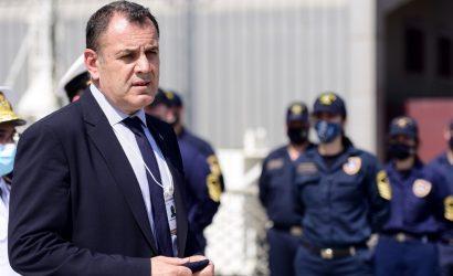 Ηνωμένα Αραβικά Εμιράτα: Στην φρεγάτα ΥΔΡΑ ο Υπουργός Άμυνας