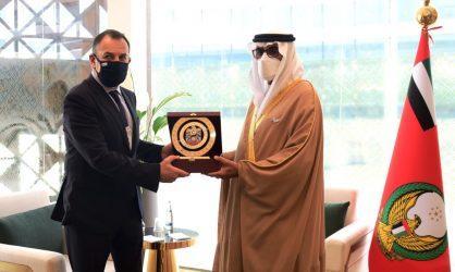 Συνάντηση του Νίκου Παναγιωτόπουλου με τον υπουργό Επικρατείας αρμόδιο για Αμυντικές Υποθέσεις των ΗΑΕ