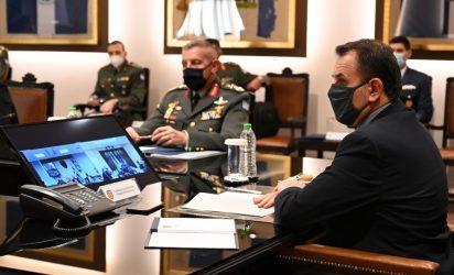 Υπουργός Άμυνας: Αναβαθμίζεται η συνέργεια μεταξύ των Ε.Δ. Ελλάδας και Κύπρου