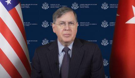 Σάτερφιλντ(Πρέσβης των ΗΠΑ στην Άγκυρα): Οι δηλώσεις Σοϊλού δεν ταιριάζουν σε έναν σύμμαχο