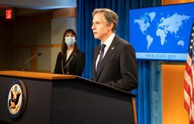 Μπλίνκεν: Η Ουάσινγκτον και οι σύμμαχοί της θα δώσουν συλλογική απάντηση για την επίθεση στο τάνκερ