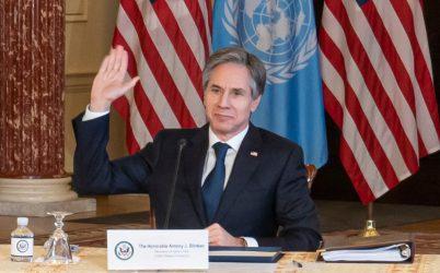 Μπλίνκεν: Οι ΗΠΑ θα γίνουν η «ηγέτιδα» χώρα σε ό,τι αφορά την εγγύηση της παγκόσμιας πρόσβασης στα εμβόλια