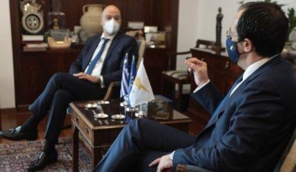 Ο συντονισμός για το Κυπριακό στο επίκεντρο συνομιλίας Δένδια-Χριστοδουλίδη