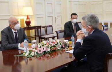 Εκπρόσωπος ΥΠΕΞ για συνάντηση Δένδια-Πάιατ: Συζητήθηκε η αναθεώρηση της Συμφωνίας Αμυντικής Συνεργασίας