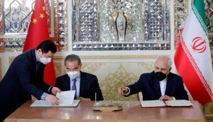 Ιράν και Κίνα υπέγραψαν 25ετή συμφωνία συνεργασίας