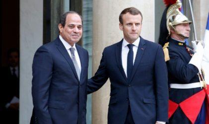 Αλ Σίσι – Εμανουέλ Μακρόν: Να αποχωρήσουν οι ξένες δυνάμεις από την Λιβύη