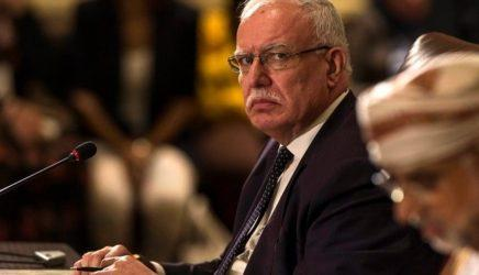 Στην Αθήνα ο υπουργός Εξωτερικών της Παλαιστινιακής Αρχής