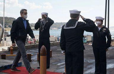 Πρωθυπουργός: : Η στρατιωτική συνεργασία Ηνωμένων Πολιτειών-Ελλάδος βρίσκεται σε εξαιρετικά υψηλά επίπεδα
