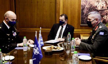 Συνάντηση ΥΕΘΑ Νικόλαου Παναγιωτόπουλου με τον Ανώτατο Διοικητή Μετασχηματισμού (SACT)