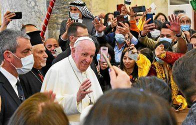 Πάπας Φραγκίσκος: Η αναχώρηση των χριστιανών από τη Μέση Ανατολή είναι «μια ανυπολόγιστη ζημιά»
