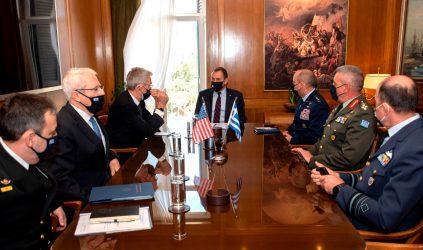 Η συμφωνία Αμοιβαίας Αμυντικής Συνεργασίας Ελλάδος-ΗΠΑ στη συνάντηση ΥΕΘΑ με τον διοικητή Συμμαχικών Αεροπορικών δυνάμεων των ΗΠΑ σε Ευρώπη και Αφρική