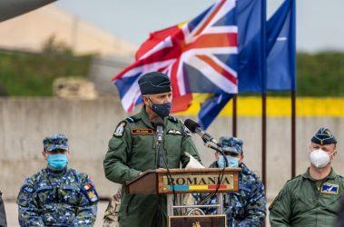 Η RAF έστειλε στην Ρουμανία έμπειρους πιλότους στην αντιμετώπιση Ρωσικών αεροσκαφών