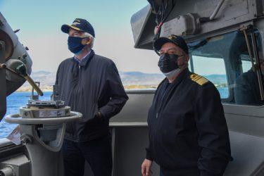 Νέα δωρεά από τον πρόεδρο του Ιδρύματος «Αικατερίνη Λασκαρίδη» στο Πολεμικό Ναυτικό
