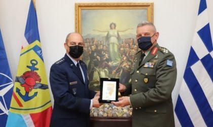 Τον διοικητή των αεροπορικών δυνάμεων των ΗΠΑ σε Ευρώπη και Αφρική συνάντησε ο αρχηγός ΓΕΕΘΑ