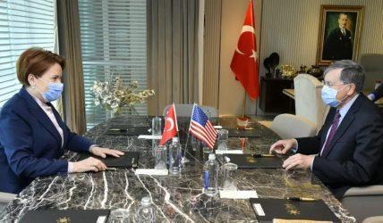 Για 90 λεπτά συζητούσαν Ακσενέρ και ο Αμερικανός Πρέσβης στην Άγκυρα