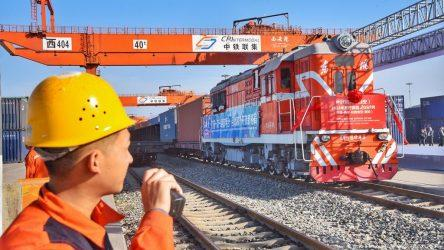 Ξεκίνησε η δεύτερη αμαξοστοιχία που μεταφέρει Βόριο από την Τουρκία στην Κίνα