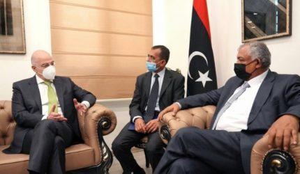 Νίκος Δένδιας σε αναπληρωτή πρωθυπουργό Λιβύης: Σας ευχαριστώ για την ευθεία τοποθέτησή σας για το παράνομο τουρκολιβυκό «μνημόνιο»