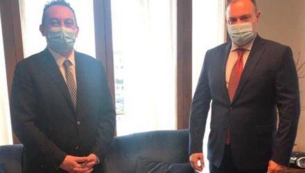 Κώστας Βλάσης: Άριστο το επίπεδο των σχέσεων Ελλάδας-Αρμενίας