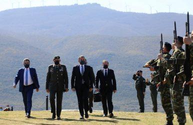 Στο Οχυρό Ρούπελ για την 80η Επέτειο από τη «Μάχη των Οχυρών» ο Υπουργός Άμυνας