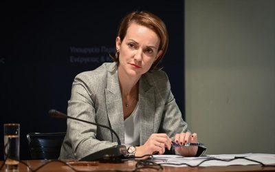 Αλεξάνδρα Σδούκου: Ενεργειακές επενδύσεις με θετικό πρόσημο για την κοινωνία