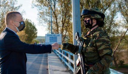 Έβρος: Περιοδεία Αλκιβιάδη Στεφανή στη ζώνη ευθύνης του Δ' Σώματος Στρατού
