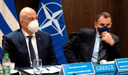 Συμμετοχή Δένδια-Παναγιωτόπουλου στην έκτακτη κοινή συνεδρίαση των Υπουργών Εξωτερικών και Άμυνας του ΝΑΤΟ