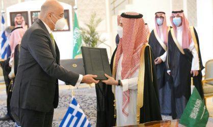 Επίσκεψη Δένδια-Παναγιωτόπουλου στην Σαουδική Αραβία: Συμφωνία Διευθέτησης Καθεστώτος Ενόπλων Δυνάμεων μεταξύ των δύο χωρών