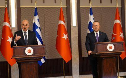 Η δήλωση του Υπουργού Εξωτερικών μετά την συνάντηση με τον Τούρκο ομόλογο του