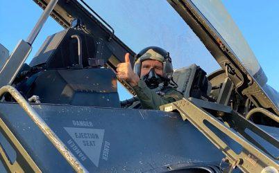 Τζέφρι Πάιατ: Η άσκηση «Ηνίοχος» αναδεικνύει τη γεωστρατηγική θέση της Ελλάδας – Ο ίδιος πέταξε με F-16
