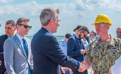 Στην Αλεξανδρούπολη ο Τζέφρι Πάιατ για την υποδοχή πλοίου με δυνάμεις για την «Defender21»