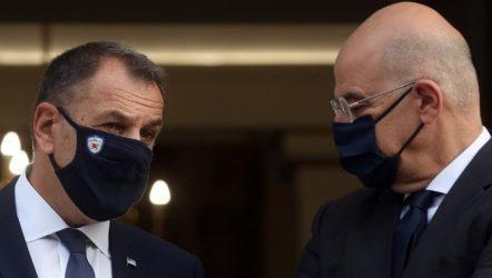 Έκτακτη κοινή συνεδρίαση Υπουργών Εξωτερικών και Άμυνας του ΝΑΤΟ την Τετάρτη με τη συμμετοχή Δένδια – Παναγιωτόπουλου