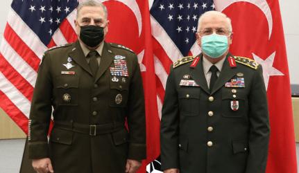 Βρυξέλλες: Συνάντηση Αρχηγών Γενικών Επιτελείων ΗΠΑ-Τουρκίας