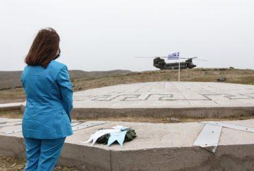 Μήνυμα αισιοδοξίας, υπερηφάνειας και αποφασιστικότητας της ΠτΔ – Πάσχα στην καρδιά του Αιγαίου με 200 ακρίτες