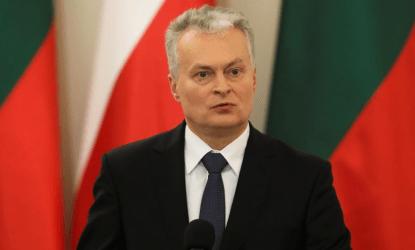 Λιθουανός πρόεδρος: Καλώ τους συμμάχους στο ΝΑΤΟ και στην ΕΕ να αντιδράσουν αμέσως