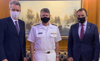 Τζέφρι Πάιατ για τις φρεγάτες του Πολεμικού Ναυτικού: Η πρόταση καθιστά την χώρα μας «την πιο ανεπτυγμένη από πλευράς ναυτικής ικανότητας