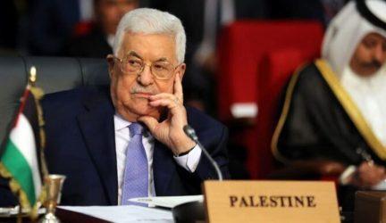 Ο Αμπάς εξέφρασε την ικανοποίησή του για τη συμβολή της Αιγύπτου με 500 εκατ. δολάρια στην ανοικοδόμηση της Γάζας