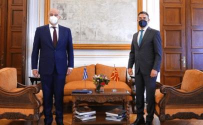 Συνάντηση Δένδια-Ντιμιτρόφ: Σταθερή στήριξη της Ελλάδας στην ευρωπαϊκή προοπτική των Δ. Βαλκανίων