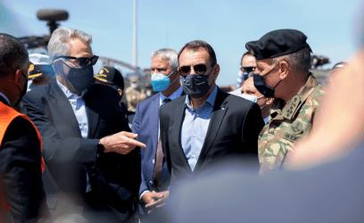 Yπουργός Άμυνας: Ελλάδα και ΗΠΑ, ΗΠΑ και Ελλάδα έχουμε την κοινή θέληση να ενισχύσουμε ακόμη περισσότερο τη στρατηγική αμυντική σχέση μας