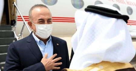 Στην Σαουδική Αραβία ο Τούρκος Υπουργός Εξωτερικών
