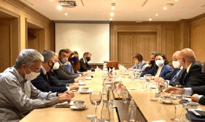 Ο Νίκος Δένδιας ενημέρωσε τον Ειδικό Εκπρόσωπο ΕΕ για τον διάλογο Βελιγράδι – Πρίστινα