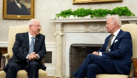 Μπάιντεν σε Πρόεδρο του Ισραήλ: Το Ιράν δεν θα αποκτήσει ποτέ πυρηνικά όπλα στη θητεία μου