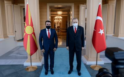 Κωνσταντινούπολη: Η ενίσχυση της οικονομικής συνεργασίας βρέθηκε στο επίκεντρο της συνάντησης του Ζόραν Ζάεφ με τον Ερντογάν