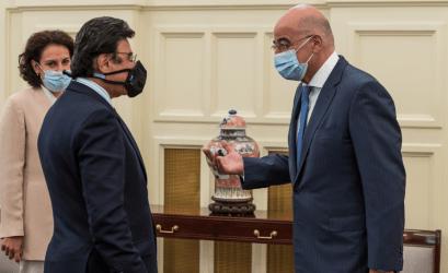 Συνάντηση του Υπουργού Εξωτερικών με τον Πρέσβη των ΗΑΕ