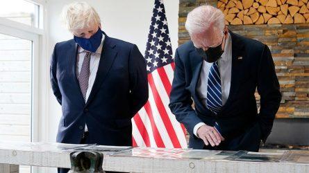 Μπόρις Τζόνσον: Τεράστιας στρατηγικής σημασίας η σχέση μεταξύ ΗΠΑ και Ηνωμένου Βασιλείου