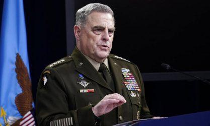 Στρατηγός Μαρκ Μάιλι: Θα προστατέψουμε όσους Αφγανούς συνεργάστηκαν μαζί μας