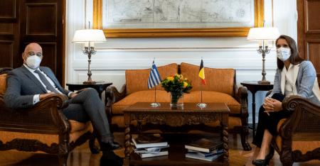 Δένδιας-Βίλμες: Ανάγκη για προσέγγιση της Τουρκίας από ΕΕ με αιρεσιμότητα και αναστρεψιμότητα