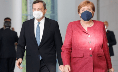 Μέρκελ και Ντράγκι υπέρ της περαιτέρω ανάπτυξης της συμφωνίας ΕΕ – Τουρκίας για το μεταναστευτικό